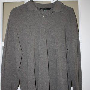 JCREW Men's Long Sleeve Polo
